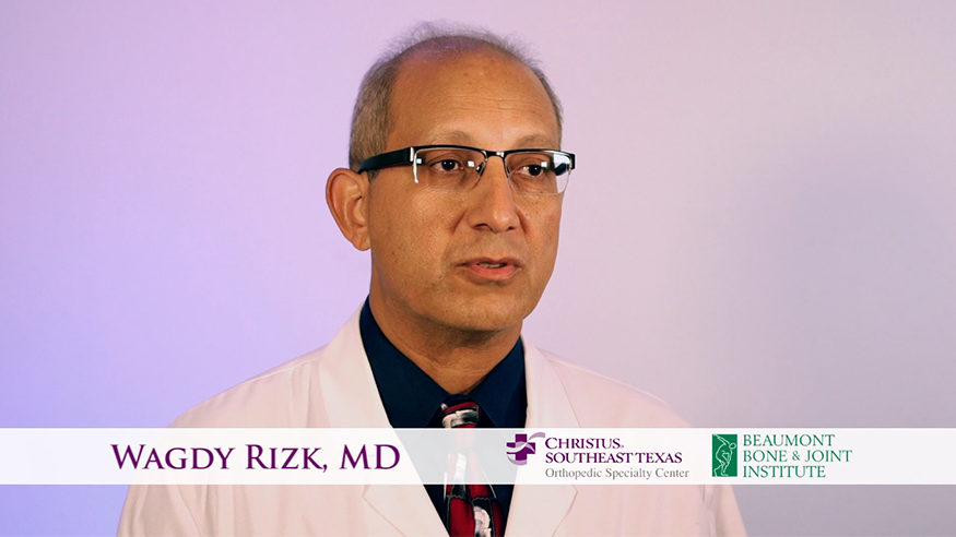 Our Team: Dr  Wagdy Salib Rizk | Beaumont Bone & Joint Institute